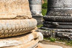 Grec le temple d'Artémis près d'Ephesus et de Sardis Image libre de droits