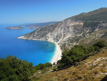 Grecce, Kefalonia Mirtos Photo stock