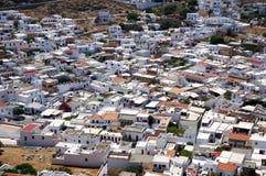 greccy budynków Fotografia Stock