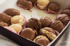 Greccy czekoladowi torty Obraz Stock