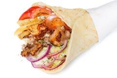 greccy gyros Zdjęcie Stock