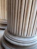 Greccy odrodzenie kamienia filary, St Paul ` s katedra, Londyn, UK obrazy royalty free