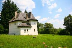 Greceanu Versterkte Manor Royalty-vrije Stock Foto