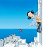 Grecia ilustración del vector