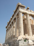 Grecia, Atenas, Parthenon en acrópolis foto de archivo libre de regalías