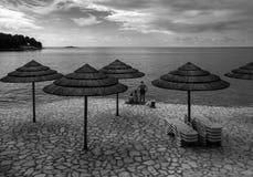 Grecia crete Playa foto de archivo libre de regalías