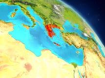 Grecia de la órbita ilustración del vector