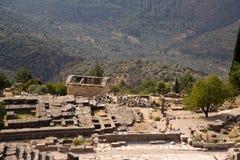 Grecia. Delphi. Ruinas Imagen de archivo