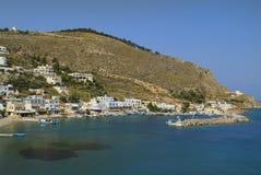 Grecia, isla de Leros fotografía de archivo