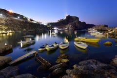 Grecia, isla de Rodas Imagenes de archivo