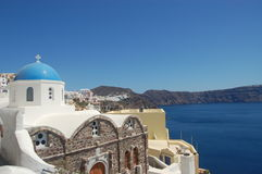 Grecia, isla de Santorini Fotografía de archivo libre de regalías