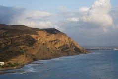 Grecia, la isla de Creta, Agia Galini fotos de archivo libres de regalías