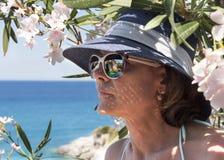 Grecia La isla de Zakynthos, el mar jónico fotografía de archivo libre de regalías