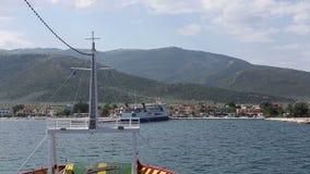 Grecia mayo de 2014: Isla de Thasos almacen de video