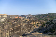 Grecia. Meteora Imágenes de archivo libres de regalías
