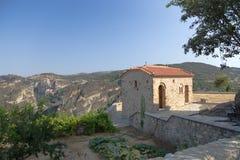 Grecia. Meteora Imagenes de archivo