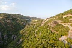 Grecia. Meteora Fotografía de archivo