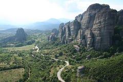 Grecia. Meteora Imagen de archivo libre de regalías