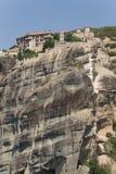 Grecia, Meteora. El monasterio santo de Varlaam Fotografía de archivo libre de regalías
