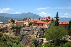 Grecia, monasterio santo foto de archivo