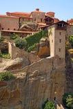 Grecia, monasterio santo fotografía de archivo