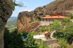 Grecia, monasterio santo imagen de archivo
