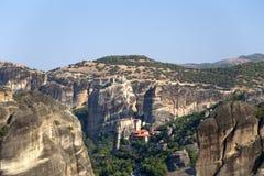 Grecia. Monasterys de Meteora Imagenes de archivo