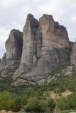 Grecia. Rocas de Meteora Imagen de archivo libre de regalías