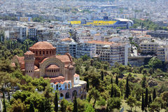 Grecia, Salónica foto de archivo