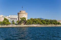 Grecia, Salónica. La torre blanca Fotos de archivo libres de regalías