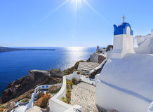Grecia Santorini Fotografía de archivo libre de regalías