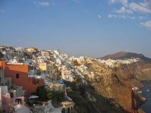 Grecia Santorini panorámico Foto de archivo