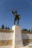 Grecia. Thermopylae. Un monumento a Leonidas Foto de archivo