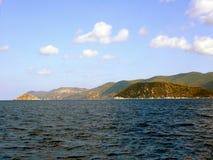 Grecia, vacaciones en la isla de Skiathos Foto de archivo