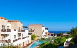 Grecia viaje julio de 2015, isla de Rhodos, Lindos Fotografía de archivo libre de regalías