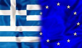 Grecia y Europa libre illustration