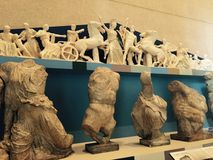 Grecian gudar arkivfoto