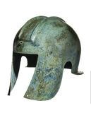Grecian helmet Royalty Free Stock Image