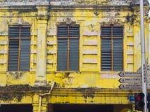 Grecian-spanjor stilbyggnader royaltyfri fotografi