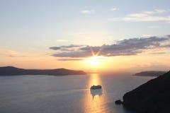 Grecja światło słoneczne Obraz Royalty Free