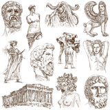 Grecja ilustracja wektor