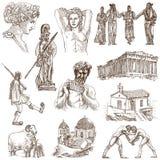Grecja royalty ilustracja
