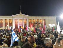 Grecja Ateny Obrazy Royalty Free
