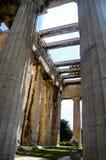GRECJA ATENY, MARZEC, - 29, 2017: Świątynia Hephaestus Zdjęcia Stock
