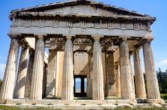 GRECJA ATENY, MARZEC, - 29, 2017: Świątynia Hephaestus Fotografia Stock