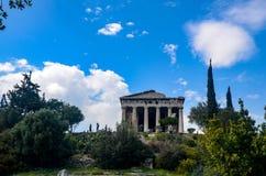 GRECJA ATENY, MARZEC, - 29, 2017: Świątynia Hephaestus Zdjęcia Royalty Free