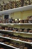 Grecja, august 28th: Zindros ikony sklepu Bizantyjski wnętrze od Kalambaka w Grecja Zdjęcia Royalty Free