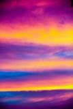 Grecja chmury Zdjęcia Royalty Free