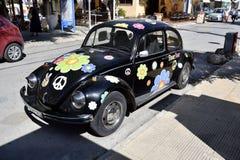 Grecja, Crete, Matala, Flower Power zdjęcia stock