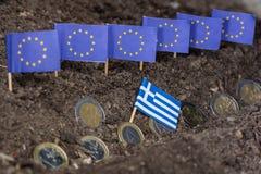 Grecja i EC Zdjęcie Stock